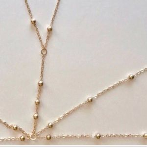 Nasty Gal Jewelry - Silver BRALETTE BODYCHAIN bikini necklace JEWELRY